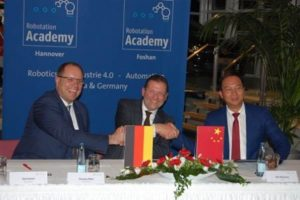 Deutsche Messe Hannover baut Robotation Academy in China